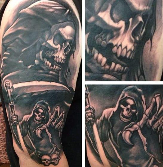 Grim Reaper Tattoo Inspiration For Men