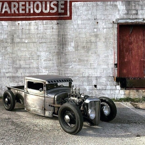 Grinded Metal Badass Rat Rods