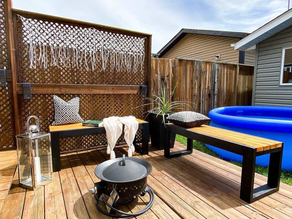 groundlevel patio deck ideas this_crowes_nest