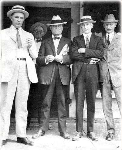 Group Of Men 1920s Fashion
