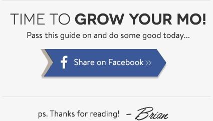 Grow Your Mustache
