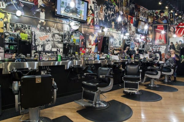 Grunge Barber Shop Designs