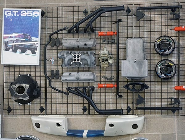 Gt 350 Automotive Parts