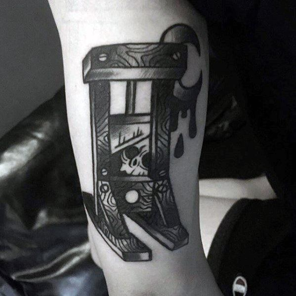 Guillotine Guys Tattoo Designs