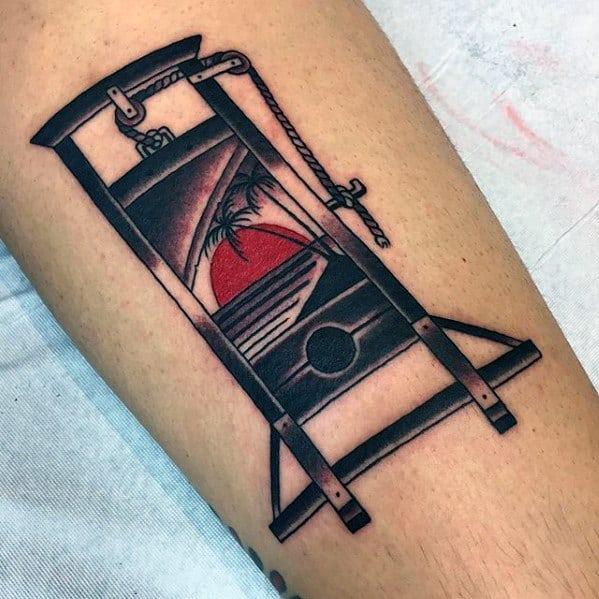 Guillotine Guys Tattoo Ideas