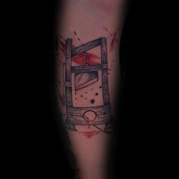 Guillotine Male Tattoo Designs