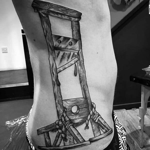 Guillotine Tattoos Men