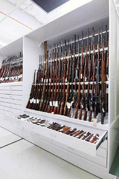Gun Room Firearm Storage Cabinet Design