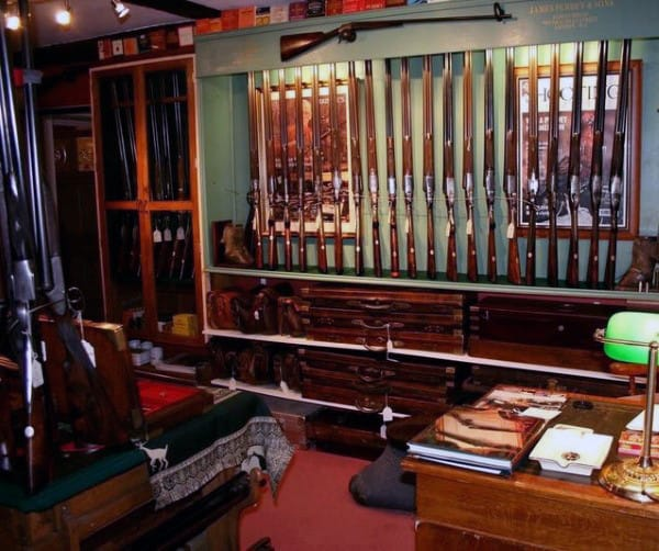 Gun Room With Desk