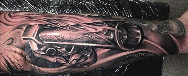 Top 51 Gun Tattoo Ideas – [2021 Inspiration Guide]