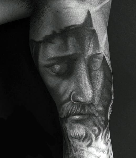 Guy Schristian Religious Tattoos