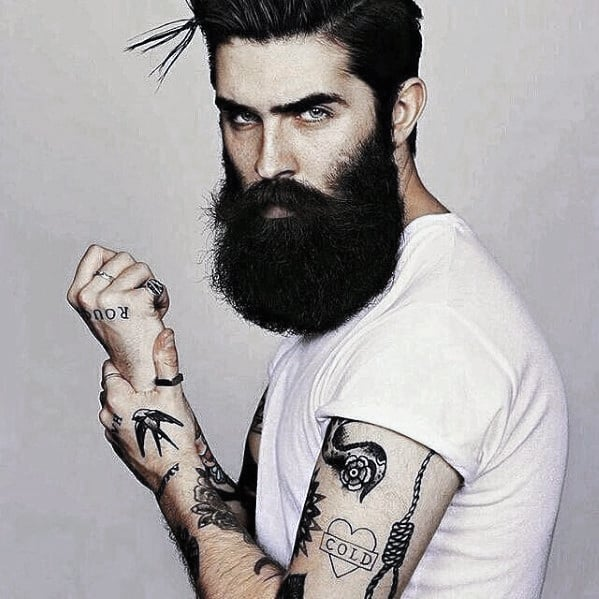 Guy With Big Cool Beard Styles