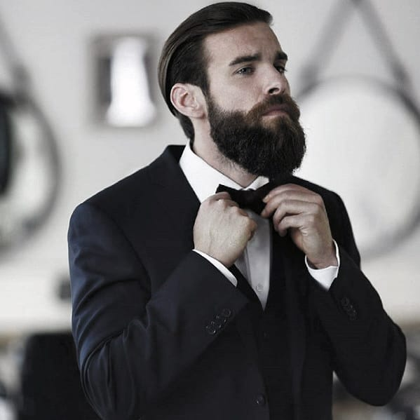 Guy With Classy Cool Beard Styles