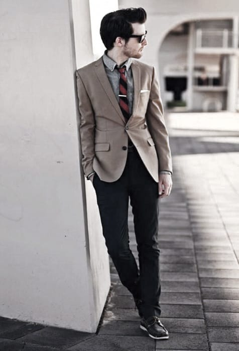 Guy With Cool Business Casual Outfits Clothing Style