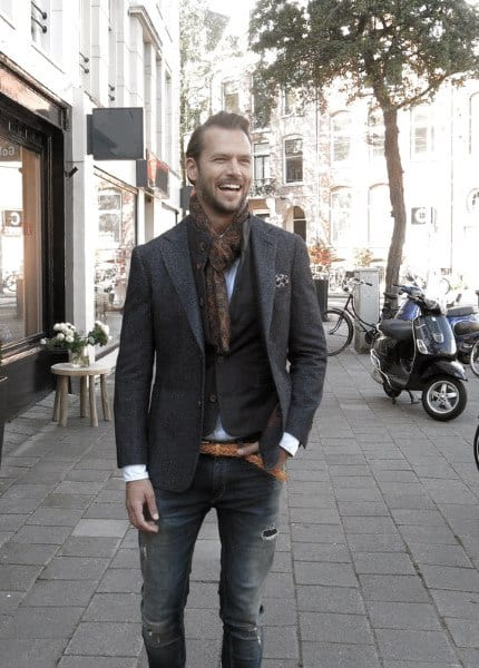 Guy With Cool Fall Outfits Clothing Style