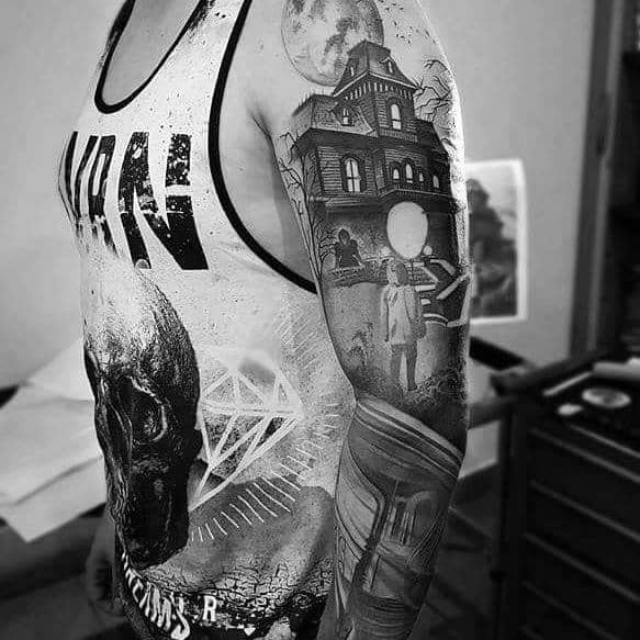 Guy With Gothic Tattoo
