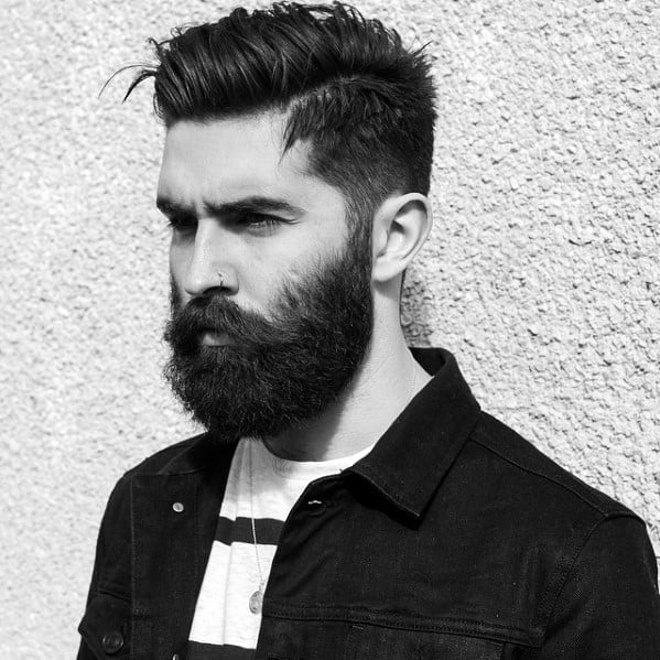 Guy With Great Cool Beard Styles