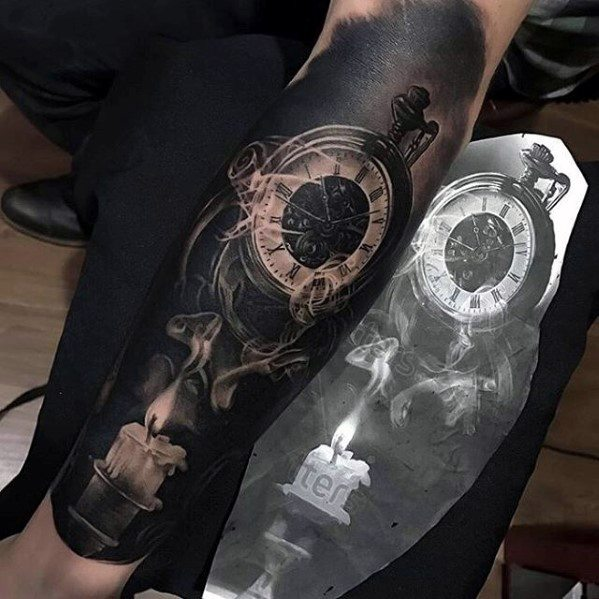 Guy With Greatest Tattoos On Forearm
