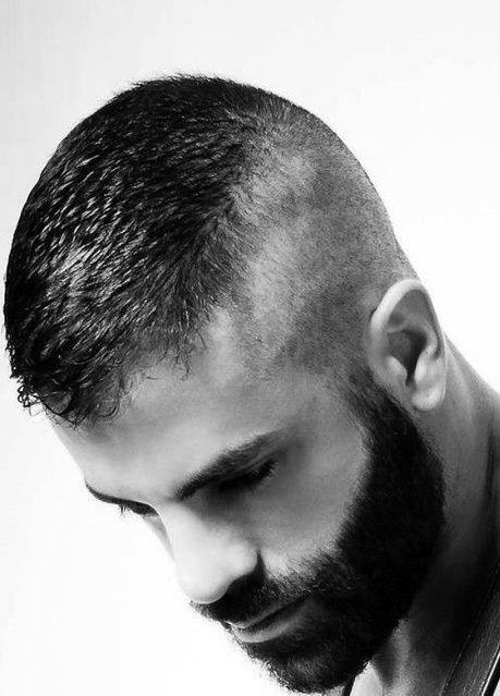 High And Tight Haircut For Men Masculine Commanding Style
