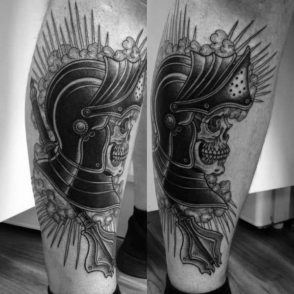 Guy With Mace Tattoo