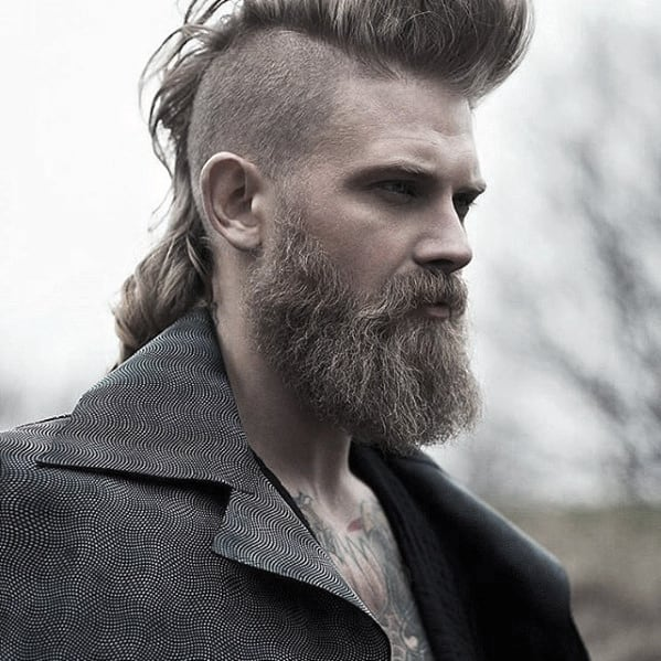 Guy With Manly Cool Beard Styles