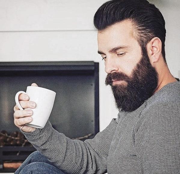 Guy With Medium Cool Beard Styles