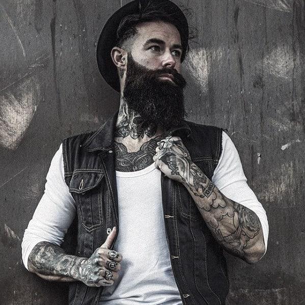 Guy With Nice Cool Beard Styles