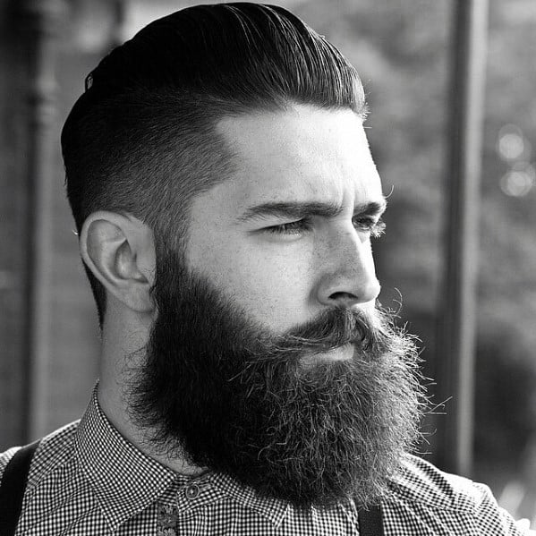 Guy With Professional Business Style Beard