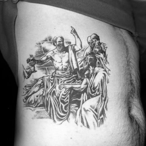 30 Socrates Tattoo Designs For Men