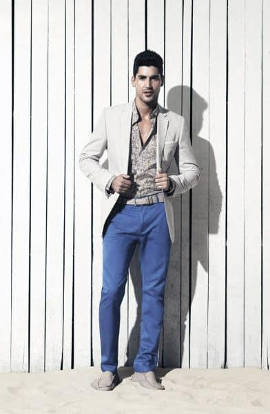 Guy With Sharp Looking Summer Outfits Outfit