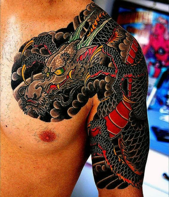 4ce632002396b 120 Japanese Sleeve Tattoos For Men - Masculine Design Ideas