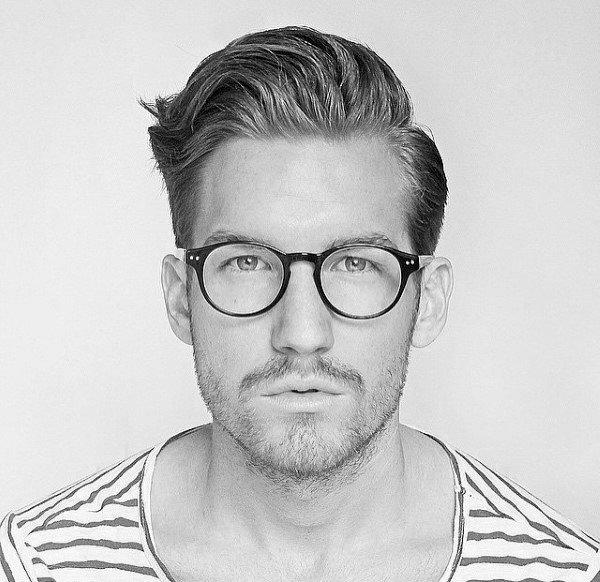 Guy With Short Haircuts Naturally Wavy Hair