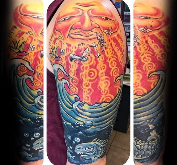 Guy With Sublime Tattoo Design