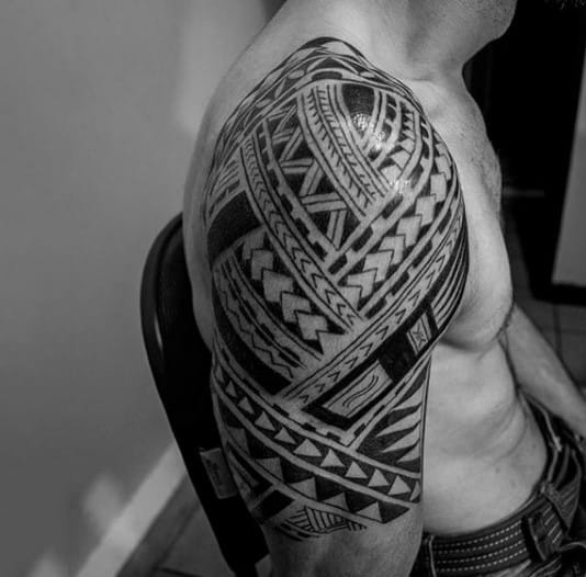 c3a788263 100 Maori Tattoo Designs For Men -New Zealand Tribal Ink Ideas