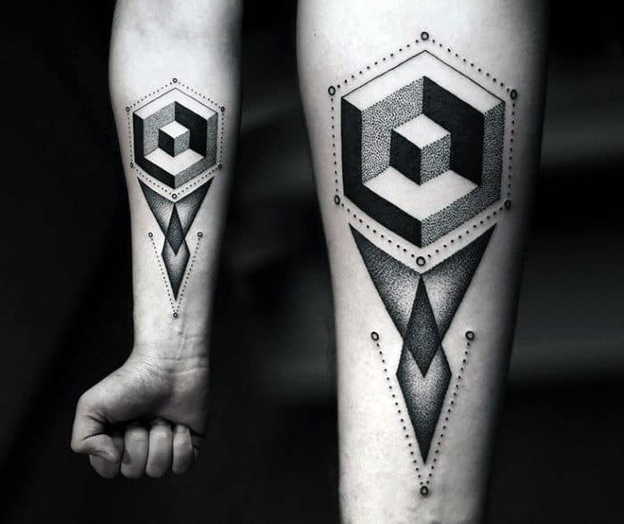 56fbe631f40bb Top 80 Best Abstract Tattoos For Men - Artistic Designs