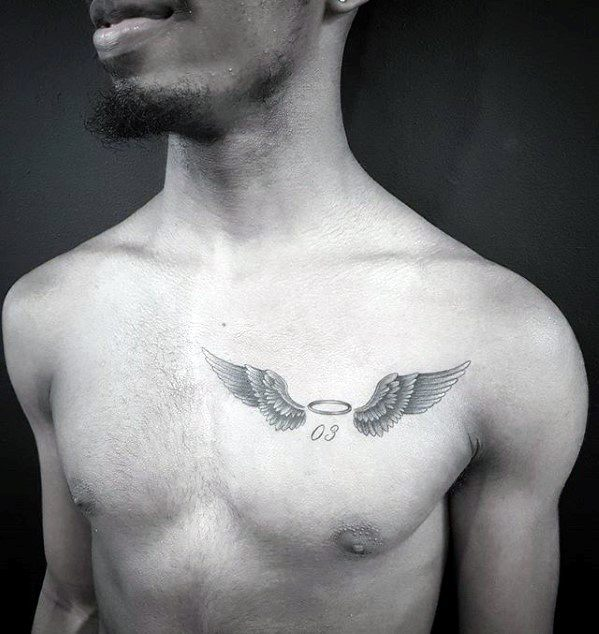 40 small chest tattoos for men manly ink design ideas