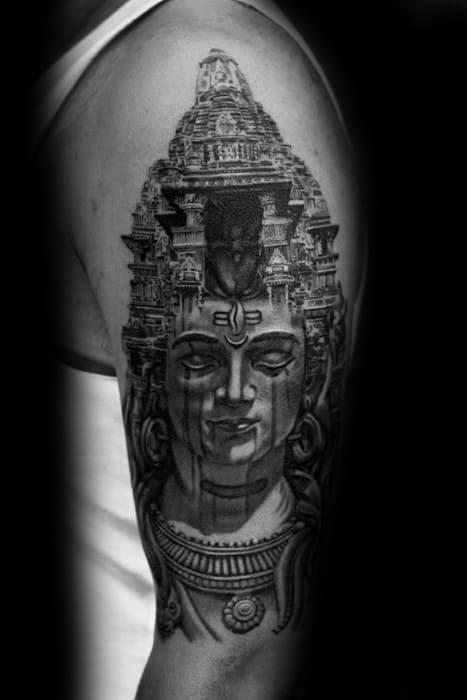 60 Shiva Tattoo Designs For Men Hinduism Ink Ideas