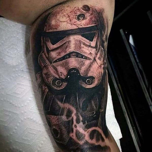 Guys Arms Star Wars Tattoo