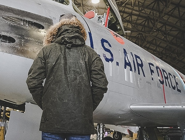 Guys Back View Cockpit Usa Olive Military Inspired Waxed Cotton Mountain Ranger Parka Review