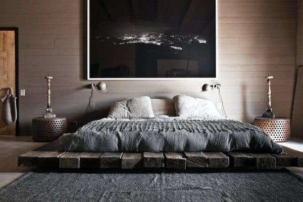 60 Men's Bedroom Ideas - Masculine Interior Design Inspiration on Guys Bedroom Ideas  id=64137