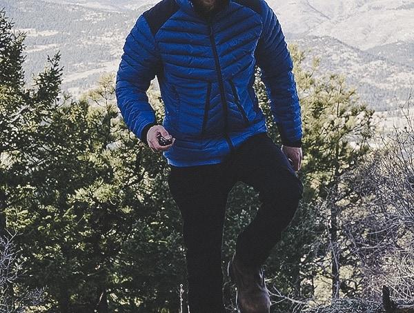 Guys Blackyak Bakosi Down Jacket Review Outdoors In Woods