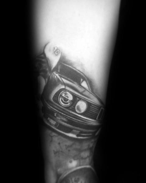 Guys Bmw Tattoo Design Ideas On Arm