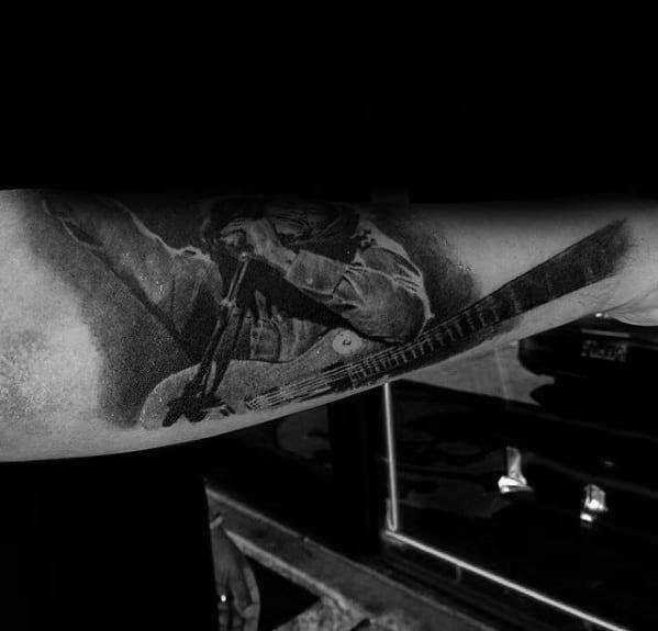 Guys Bob Marley Tattoo