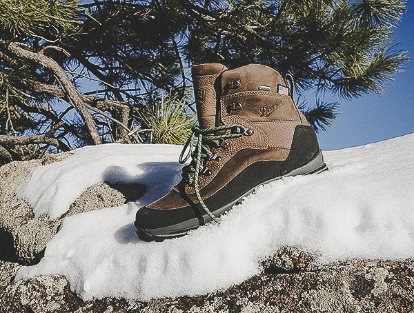 Guys Boots Outdoordanner Crag Rat Usa Green Brown Leather