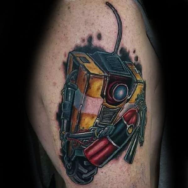 Guys Borderlands Tattoo Designs