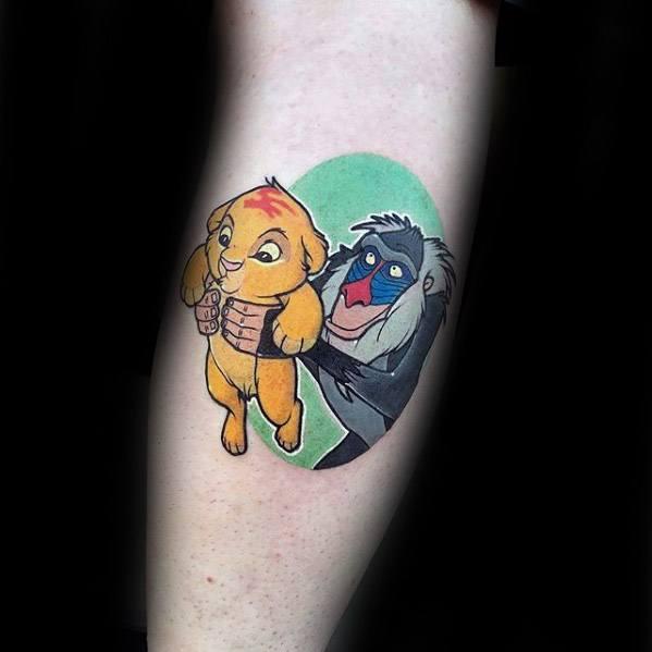 Guys Cartoon Tattoo