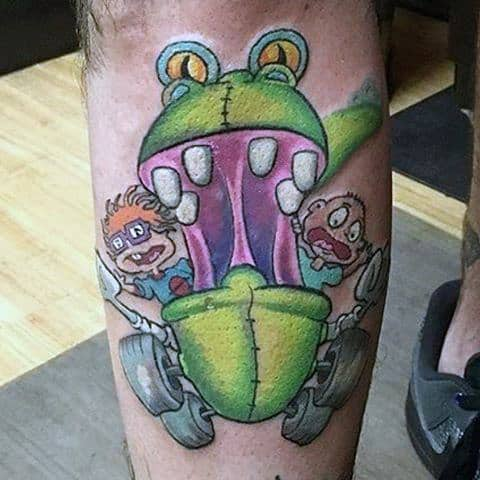 Guys Cartoon Tattoos