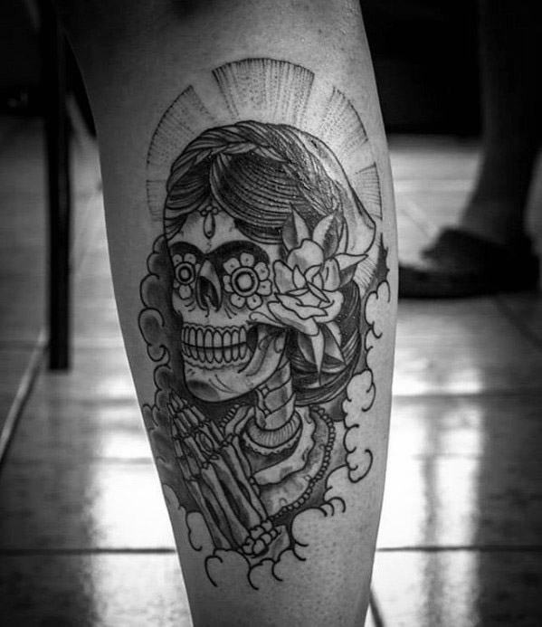 50 la catrina tattoo designs for men