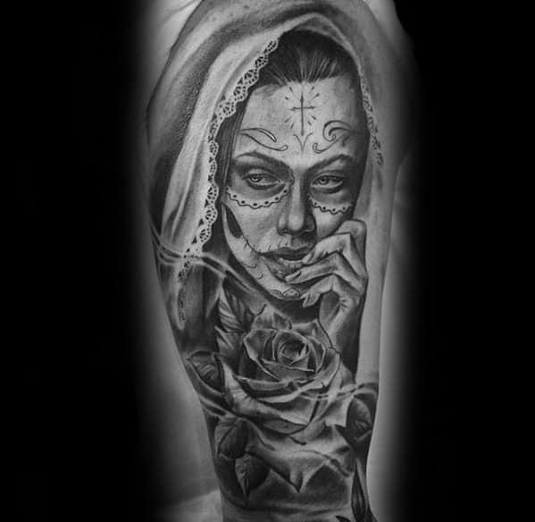 Guys Catrina Tattoos