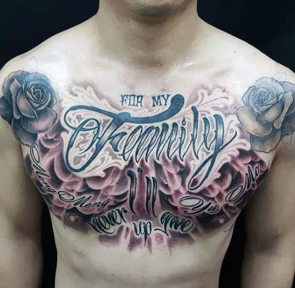 100 family tattoos for men commemorative ink design ideas. Black Bedroom Furniture Sets. Home Design Ideas